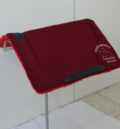 Manta Vermelha Profissional Mangalarga Machador Oferta Original