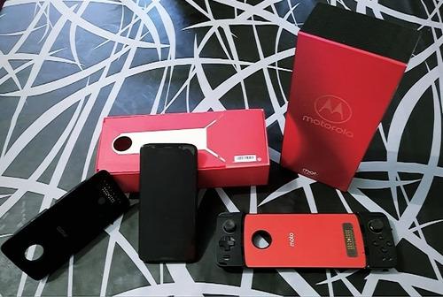 Celular Moto Z3 Play02 Snaps (projetor E Gamepad) Original