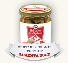 Shiitake Gourmet Premium Pimenta + Teriyaki (2 Potes)