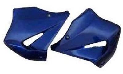 Aba Do Tanque Azul Metalica Melc Cbx 250 2004 Original