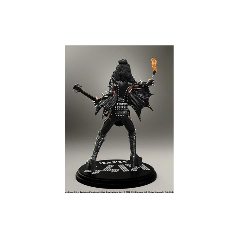 Estátua Kiss The Demon - Alive! KnuckleBonz - Rock Iconz Statue