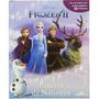 Frozen Ii História C/ Cenário Gigante 10 Miniaturas