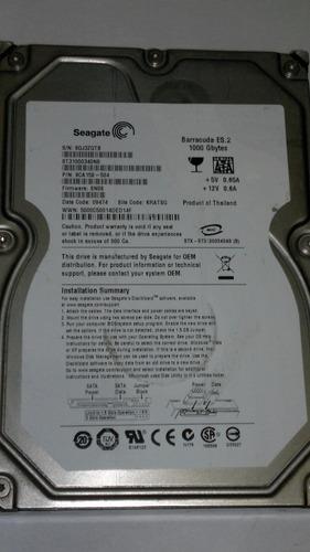 Placa Logica Hd 1 Tb St31000340ns Fwc Sn06 Cod. 557b Original
