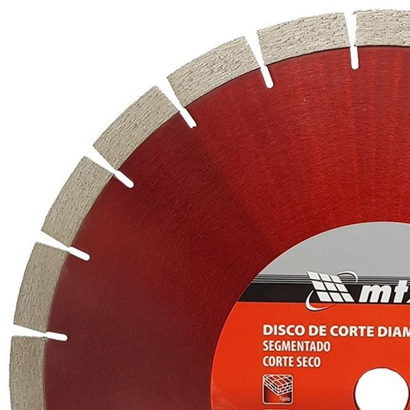 DISCO DIAMANTADO SEGMENTADO 350MM X 24,04 CONCRETO PEDRA MTX