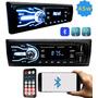 Aparelho De Som Carro Automotivo Bluetooth Pendrive Sd Rádio