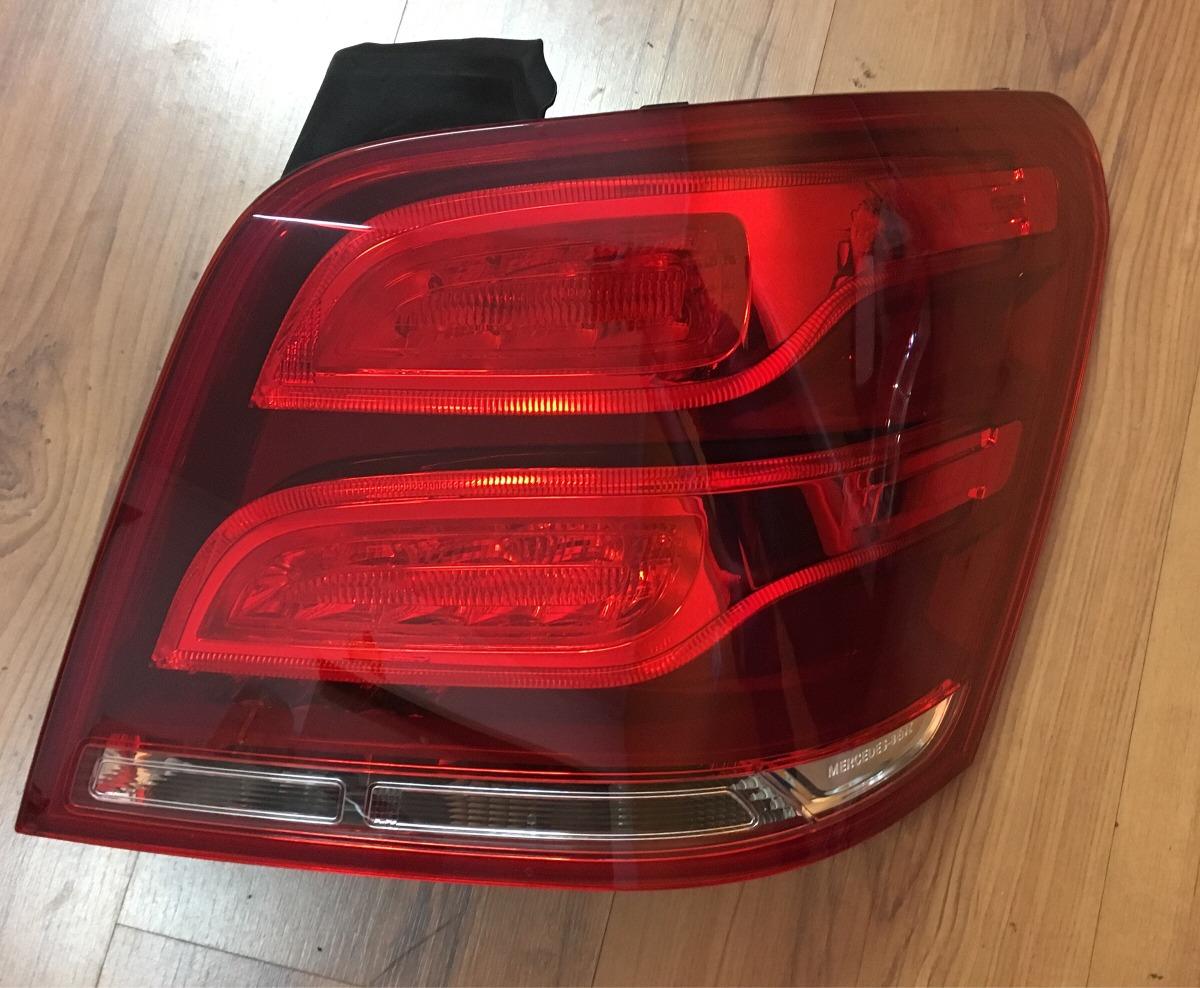 Lanterna Traseira Mercedes Glk Com Led Lado Direito