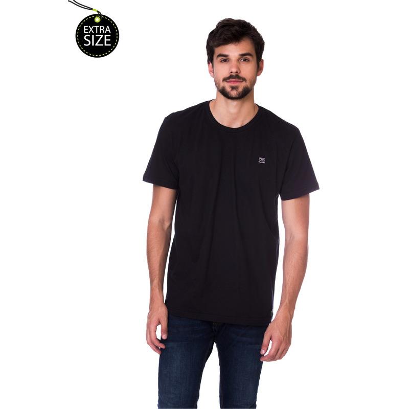 Camiseta Long Island Plus Size MG Preta