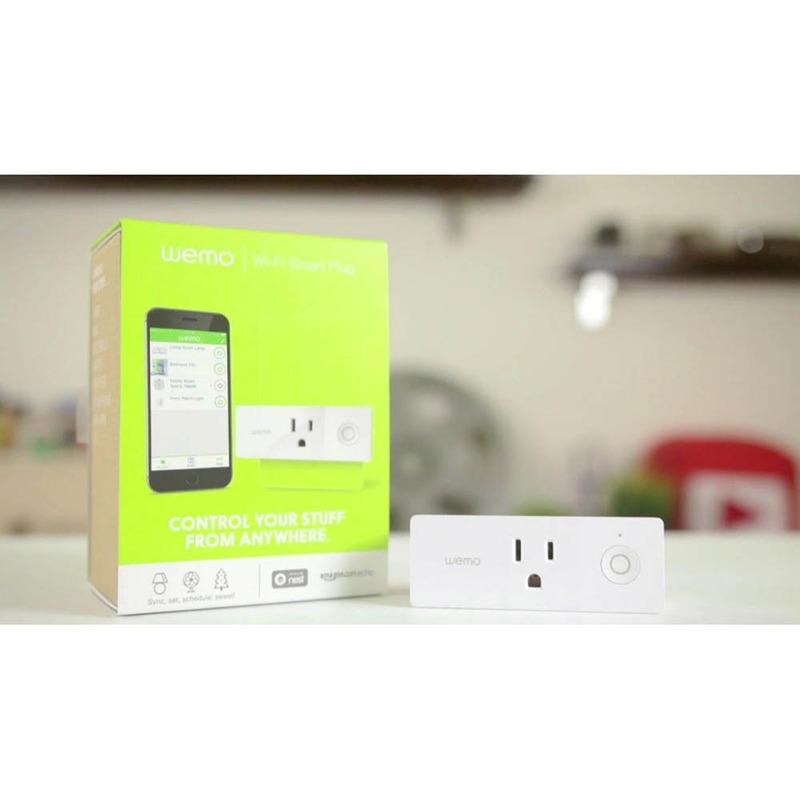 WEMO Tomada Inteligente Mini Smart Plug Wi-Fi - Branco 1879