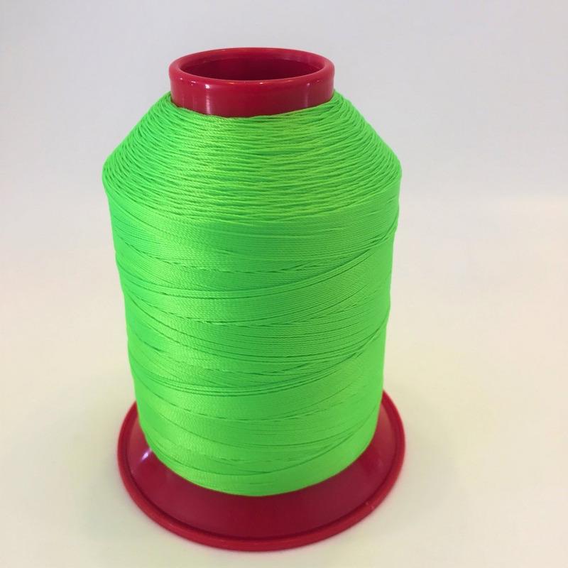 Linha 40 para costura verde fluorescente - 329