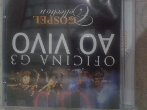 Cd Oficina G3 Ao Vivo Original