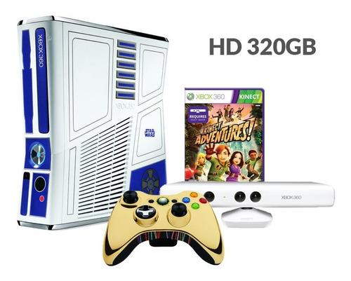 Xbox 360 Slim Edição Limitada Star Wars - Original