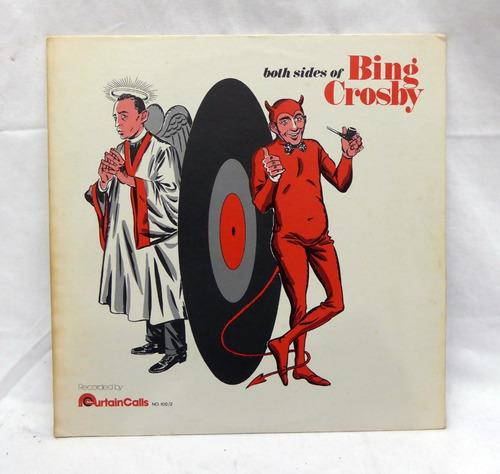 Lp Disco Bing Crosby  - Both Sides Of Bing Crosby Original