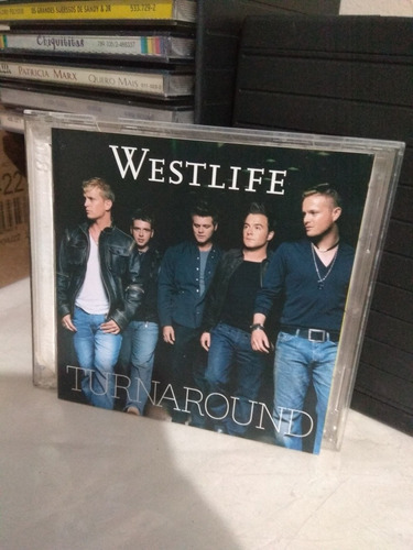 Cd Westlife Turnaround Duplo Importado Boy Band Pop Music Original