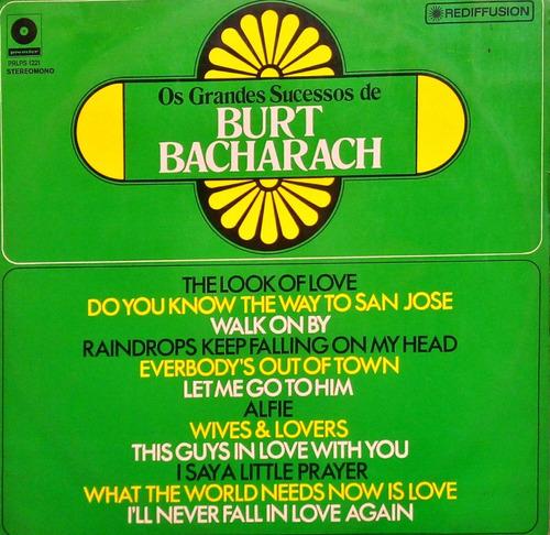 Burt Bacharach Lp Os Grandes Sucessos Pete Moore 11718 Original