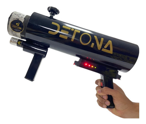 Bazuka-bazuca-bazooka 9 V+ 2 Canhões Glitter -  Original