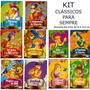 Livro Infantil Clássicos De Sempre Com 10 Livros frete 7, 00