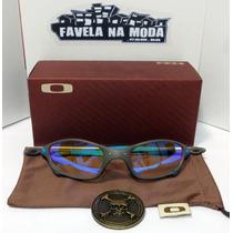 7a593e5337fa0 Comprar Óculos Oakley Juliet (clear Azul) + Par De Lentes + Brindes