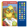 Livro Sonoro Ouça E Aprenda Números canetinha Escreva Apague