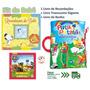 Kit 3 Livros Para O Bebê: Recordações Banho Travesseiro