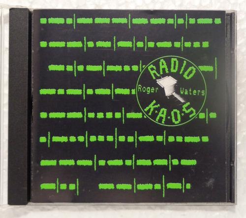 Roger Waters Cd Nac Usado Radio K. A. O. S. 1987 Original