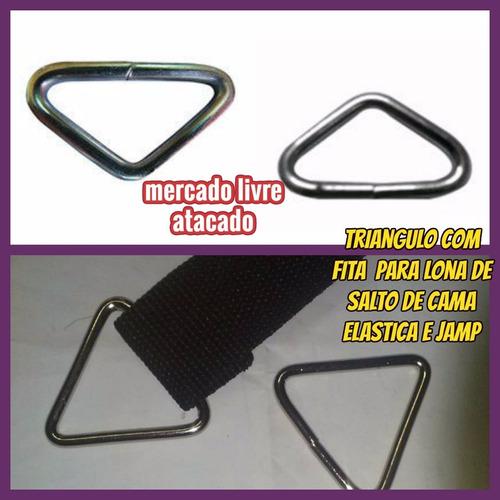 Cama Elastica Triangulo C/fita Reforçada P/ Lona De Salto 20 Original