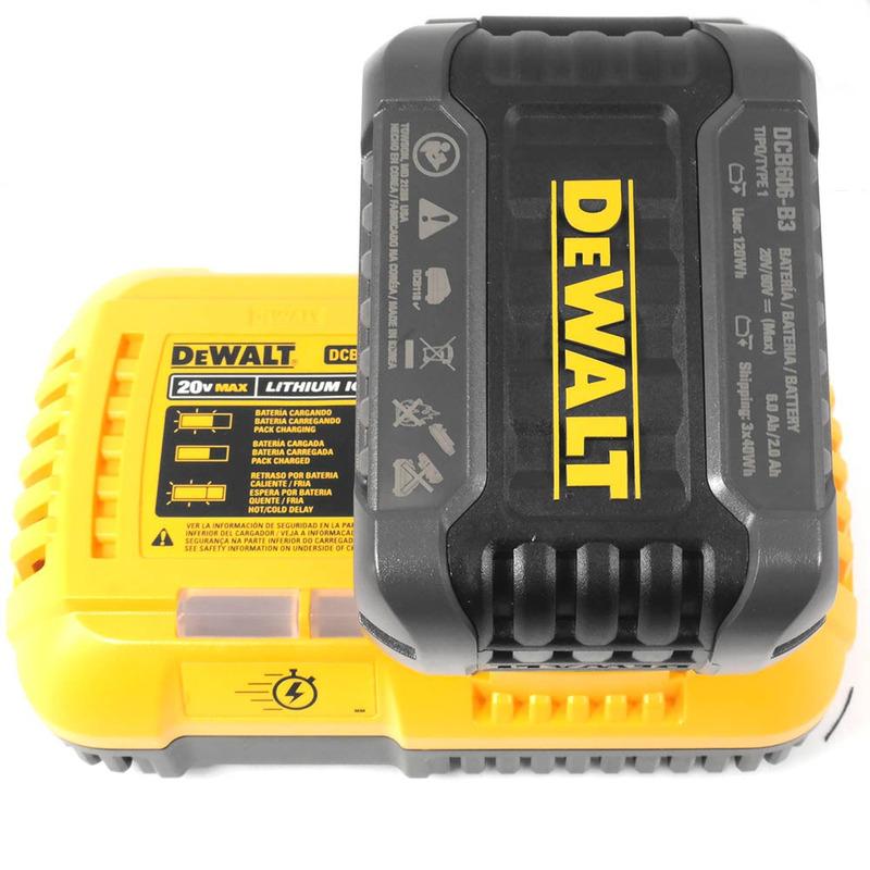 Esmerilhadeira 60V DeWALT FlexVolt com 3 Baterias - DCG414T2