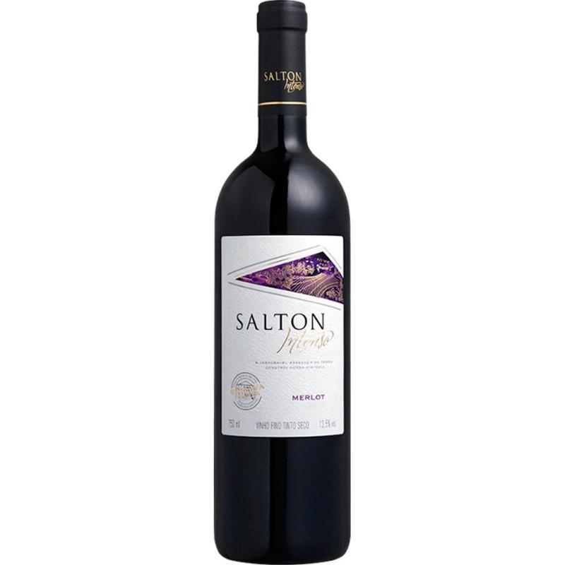 Vinho Fino Intenso Merlot 750ml - Salton
