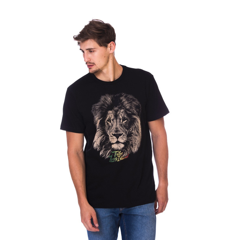 Camiseta Long Island Lion Preta