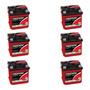 Kit 6 Baterias Estacionárias Freedom Df 500 40 Amperes