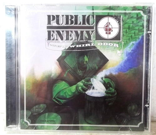Public Enemy New Whirl Odor Cd  Bom Estado Original