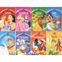 Kit Com 16 Livros Infantil Disney Pronta Entrega Lindos