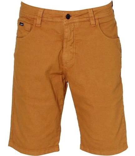 Bermuda Jeans Masculina Colorida Com Lycra Plus Size Original