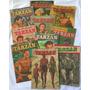 Lote Com 10 Gibis Tarzan Nº 21 A 30 1ª Série Fac símile