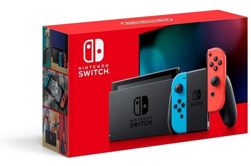 Nintendo Switch 32gb Novo Modelo Lacrado De Fábrica Original
