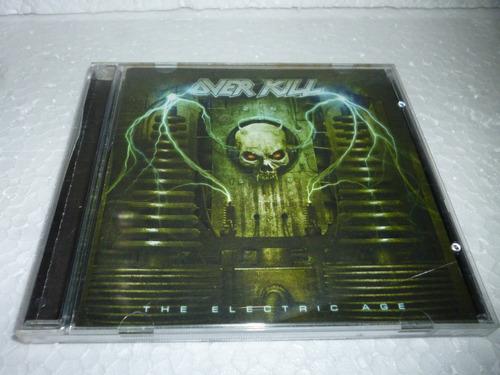 Cd Over Kill - The Electric Age Usa 2011 Original