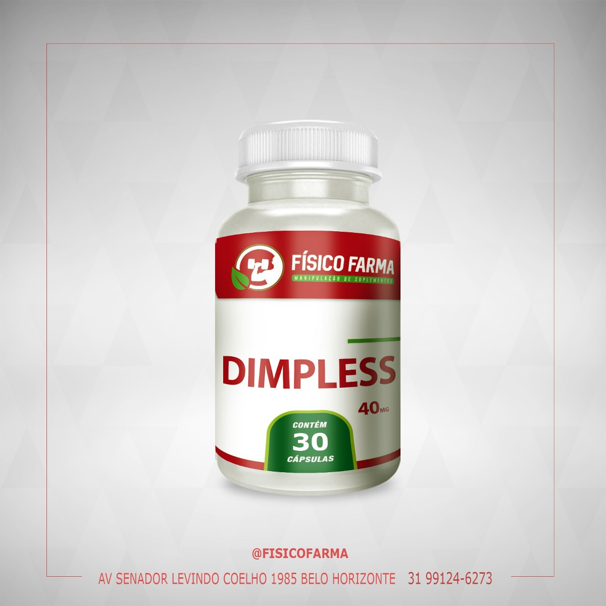 Dimpless 40mg - 30 Cápsulas