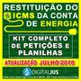 Kit Completo Para Reembolso De Icms Indevido Na Conta De Luz