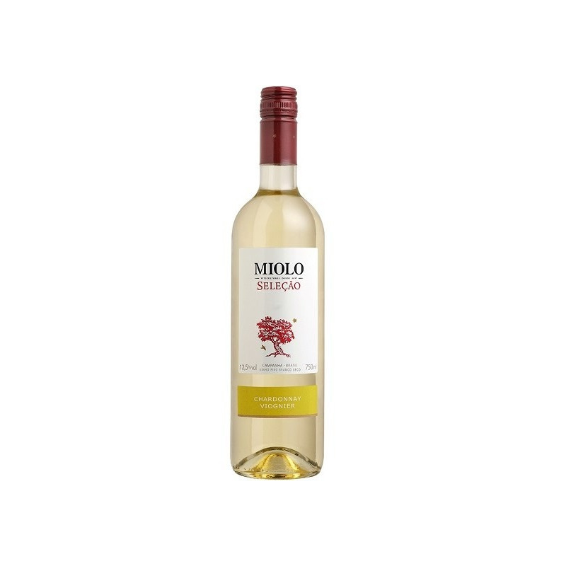 Vinho Fino Seleção Chardonnay/Viogner 750ml - Miolo