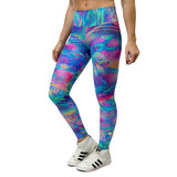 Legging Estampada Emana Plus Color Land