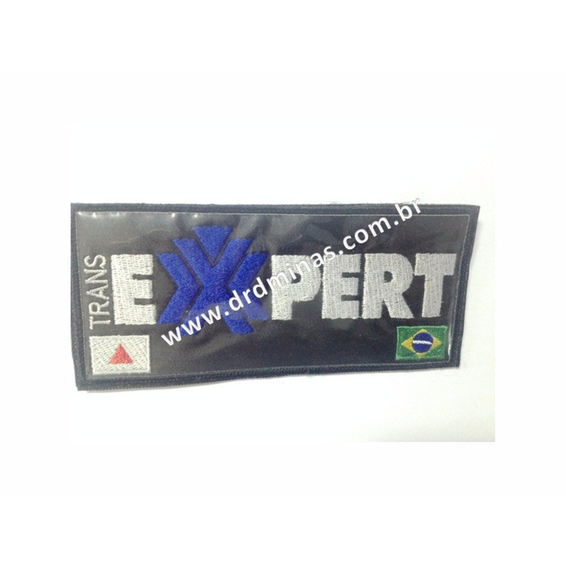 Etiqueta Bordada EXPERT- 9 x 18