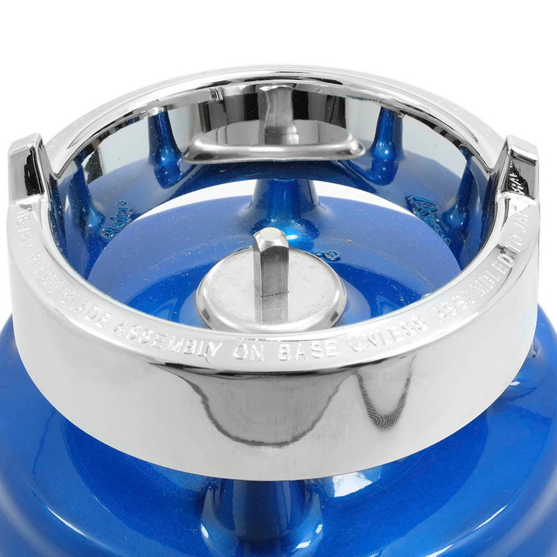 Liquidificador Oster Clássico Azul com Jarra de Vidro 110V