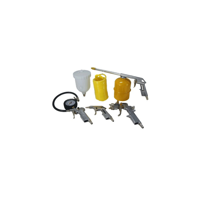 Kit de Pintura para Compressor 5 Peças -  4130201 - Tekna