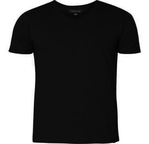 Camisetas Decote V ( G1 Ao G4.) Original