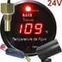 Relógio Medidor Temperatura Água Caminhão Ônibus 24v Rt01 Vm
