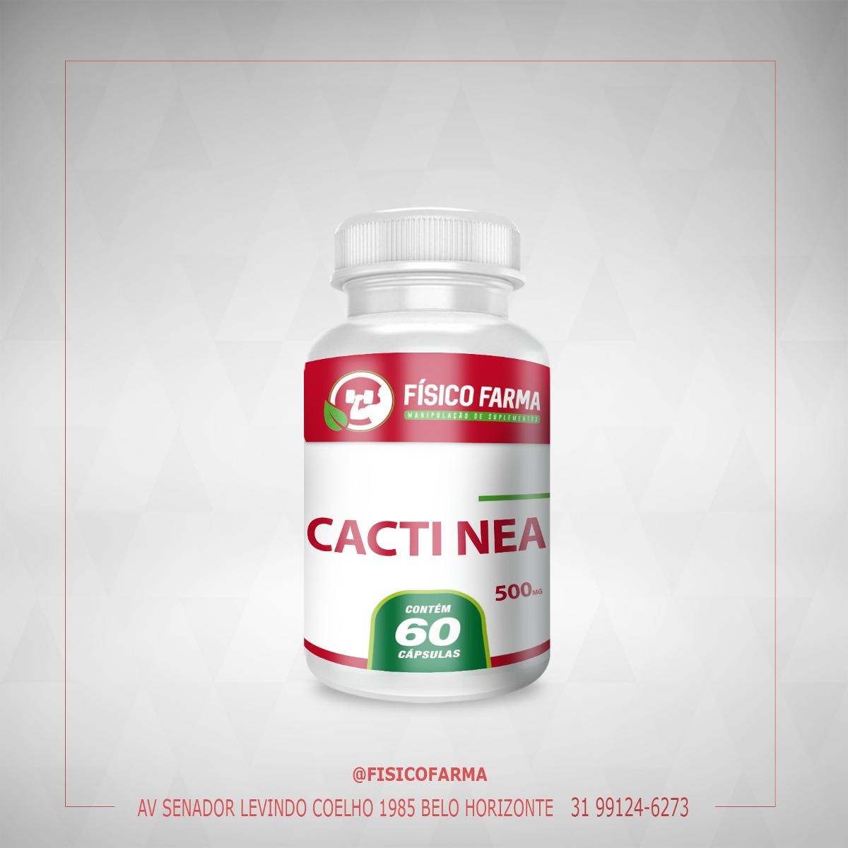 Cacti - Nea  500mg - 60 Cápsulas