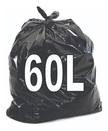 Saco De Lixo 60 Litros Resistente 100 Unidades Original