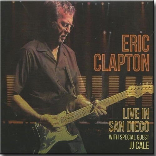 Eric Clapton - Cd Duplo - Live In San Diego / With Jj Cale Original