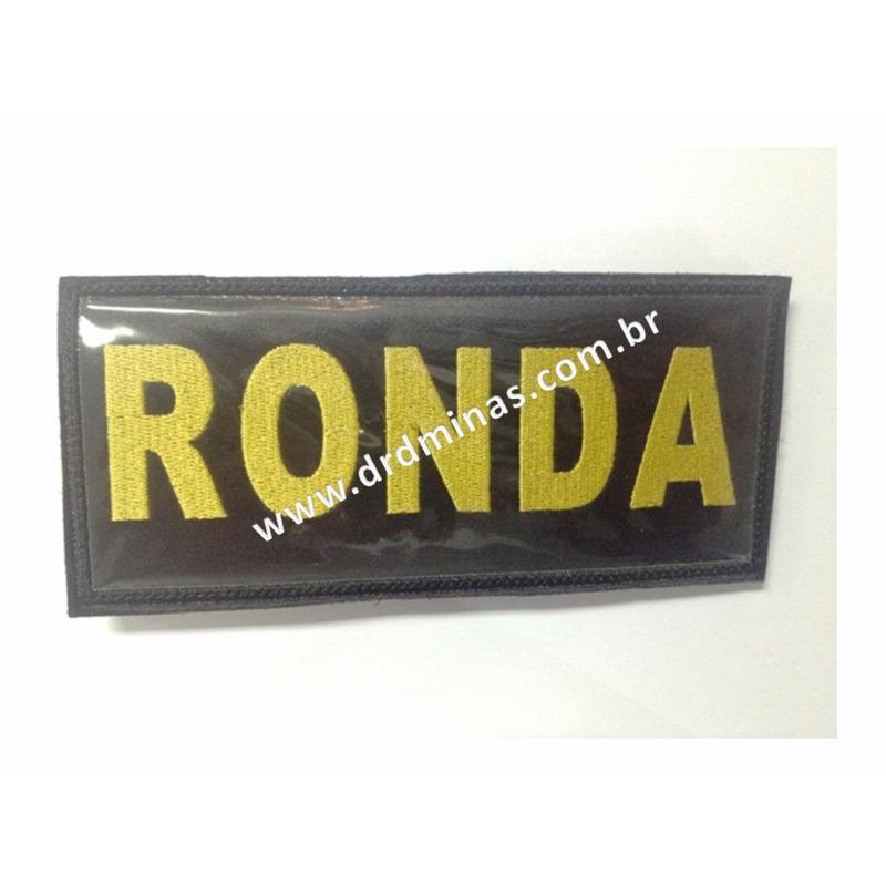 Etiqueta Bordada RONDA - 9 x 18