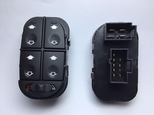 Botão Interruptor Vidro Elétrico Escort Zetec Quadruplo 2525