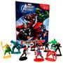 Livro Disney Marvel Vingadores Assemble Batalhas I